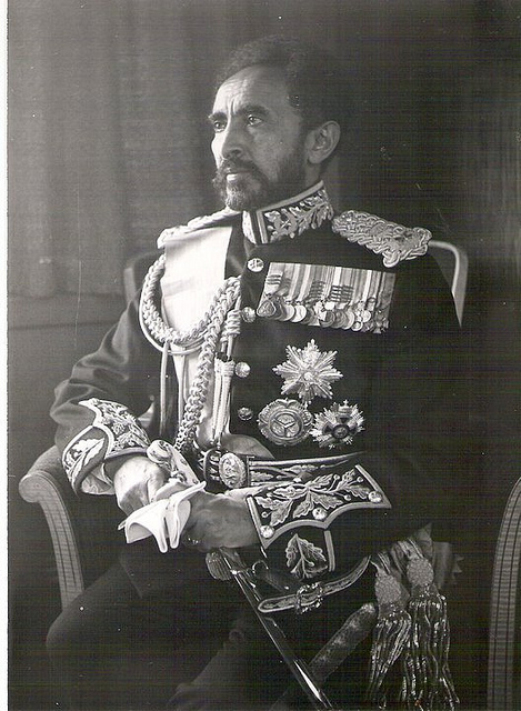 Haile Selassie I, King of Kings, Lord of Lords, Conquering Lion ...