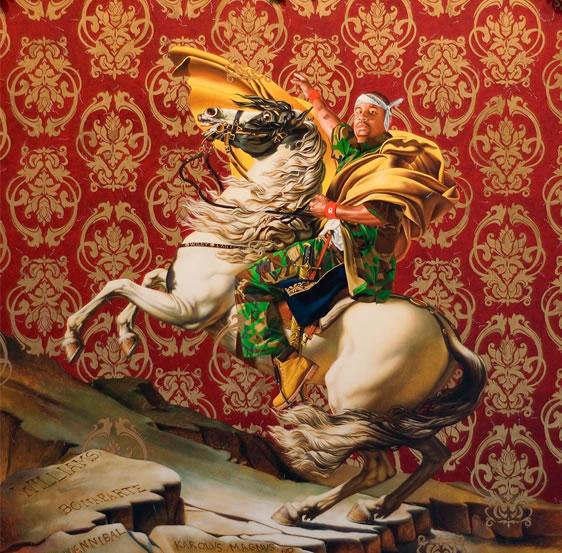 Napoleon Kehinde Wiley