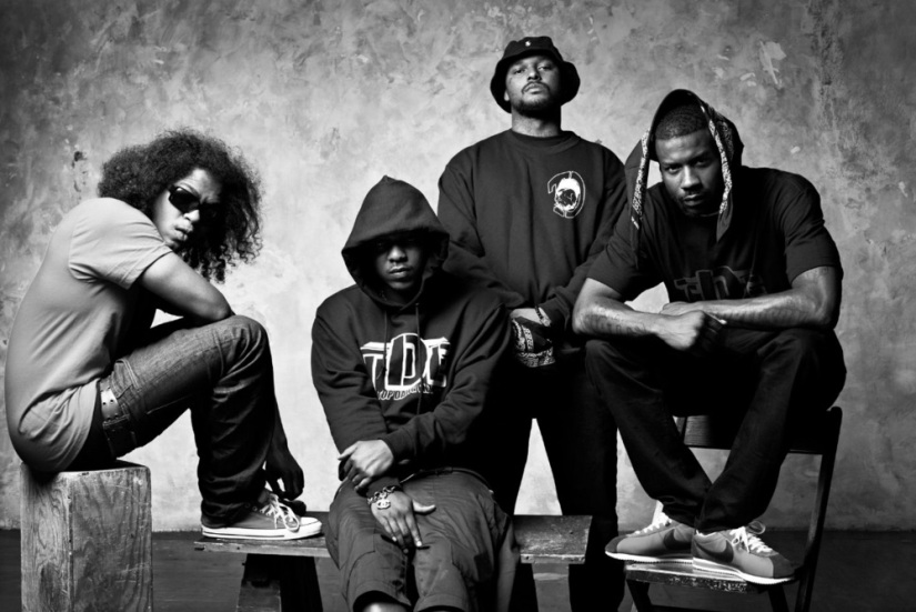 Black Hippy droppin', eyebrows raised