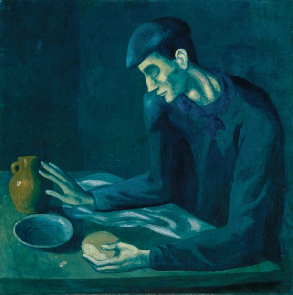 The Blind Man's Meal (1903), Pablo Picasso
