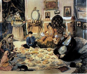 Ramadan of the rich people, Azim Azimzade (1932)
