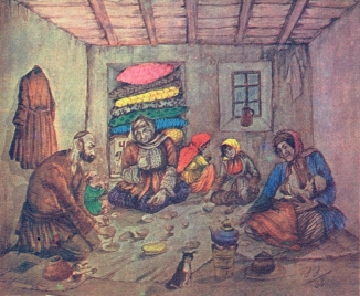 Ramadan of the poor people, Azim Azimzade (1938)