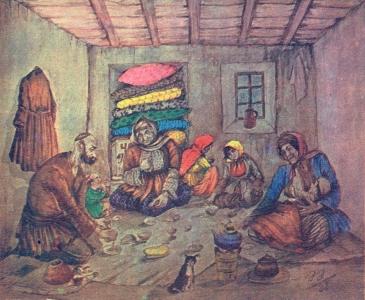 Ramadan of the poor people, Azim Azimzade (1938)